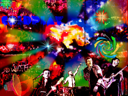 Coldplay popart