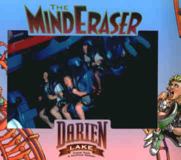 Darien Lake Mind Eraser on ride 사진