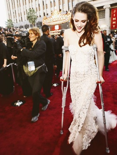 Kristen at the Oscar 2013