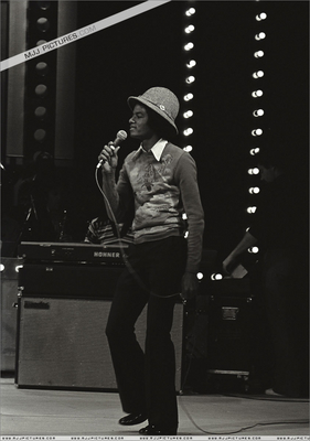 Michael Rehearsing For A Live Performance
