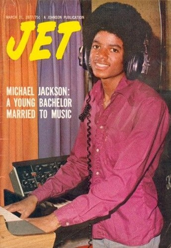 "Micheal On The Cover Of The 1977 Issue Of ""JET"" Magazine"