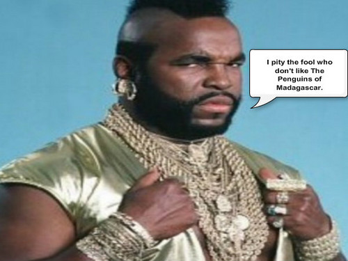 Mr. T knows good TV. XD