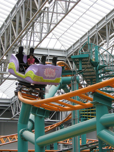 Nickelodeon Universe Fairly Odd Coaster