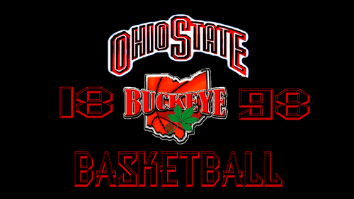OHIO STATE bola basket 1898