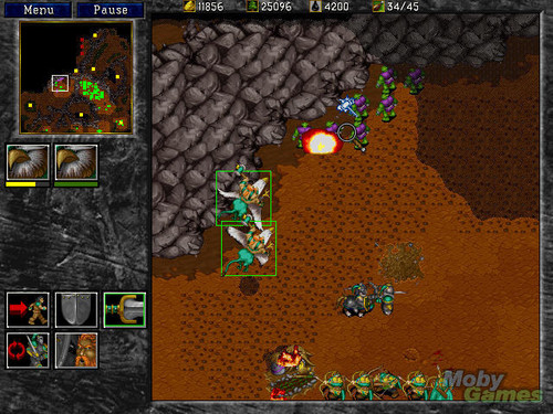 Warcraft II: Tides of Darkness screenshot