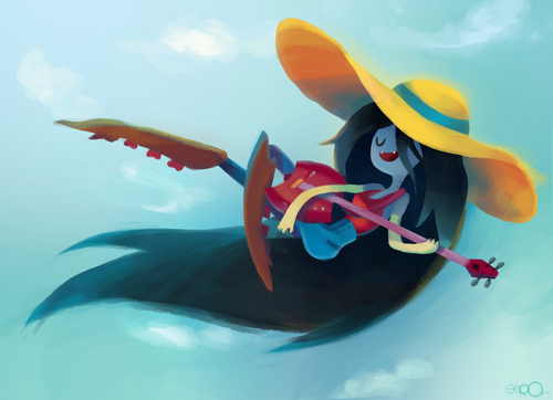 Beautiful Marceline fã Art