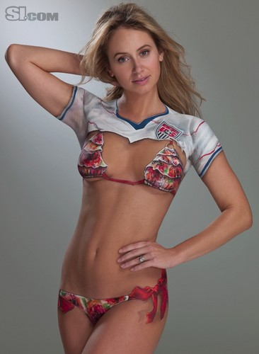 Bethany Dempsey in Bodypaint: 2010 Issue