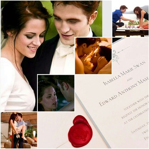 Edward and Bella honeymoon/wedding