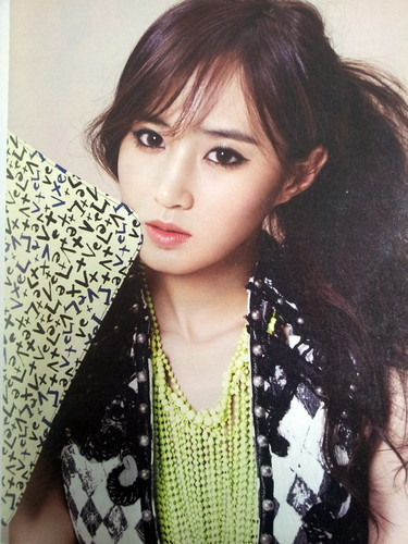 High Cut Korea Magazine SNSD Kwon Yuri 2013 Spring Collection