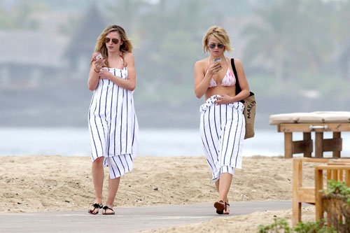 Julianne out in Hawaii