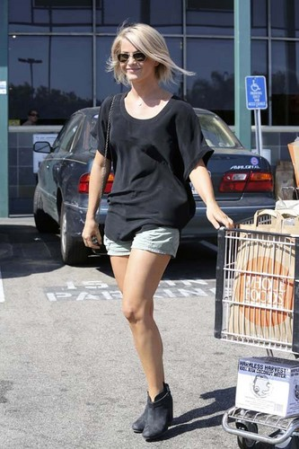 Julianne out in West Hollywood
