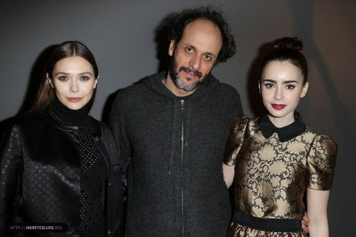 Lily attends the Louis Vuitton Fall/Winter दिखाना during Paris Fashion Week [06/03/13]