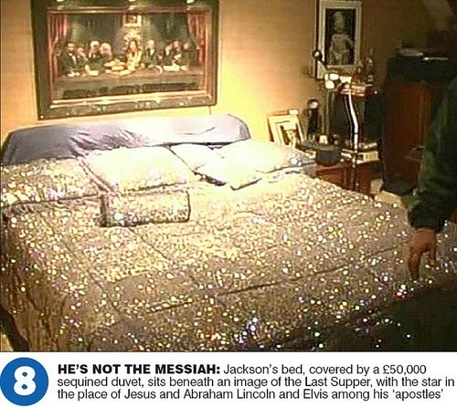 The Master Bedroom At Neverland Ranch