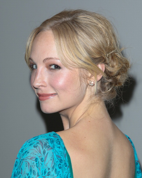 Candice Accola at the GenArt Hosts chajio, chakula cha jioni Party Honoring LAFW Fashion Alumni