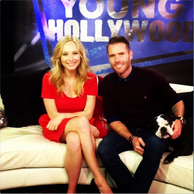 Candice - interview for Young Hollywood [13/03/13]