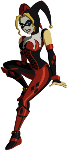 young justice_ harley quinn