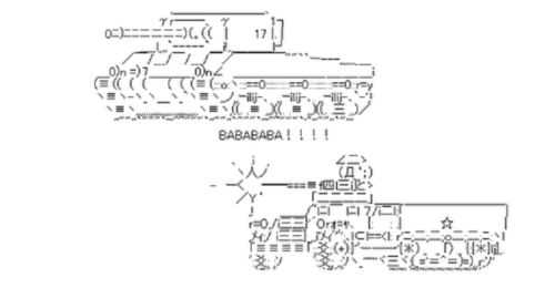 ASCII Military Stuff from http://www.nobstudio.com/forums/showthread/2592