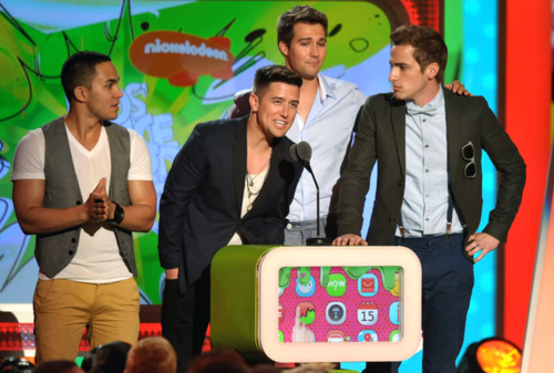 Big Time Rush @ 2013 Kids Choice Awards (3/23/13)