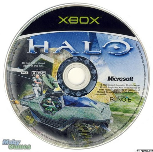 Halo: Combat Evolved (Xbox disc)