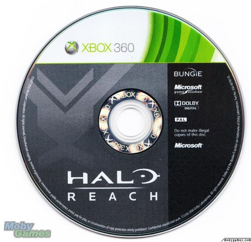 Halo Reach disc