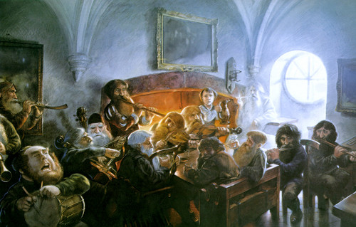 John Howe`s illustration