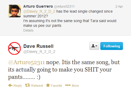 Dave Russell, Gaga's sound engineer, on ARTPOP