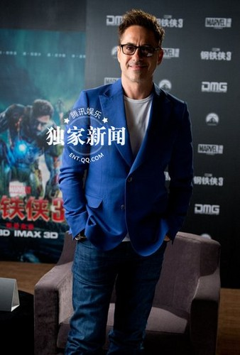 Iron Man 3, Beijing press junket