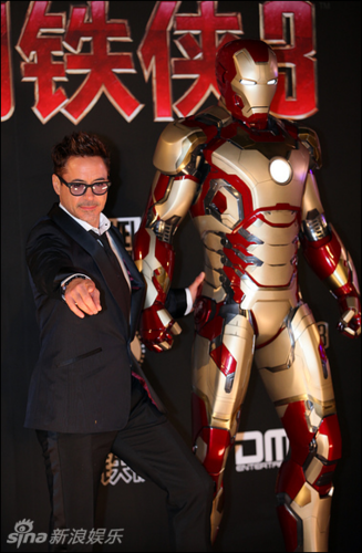Iron Man 3 tour - Seoul, Korea