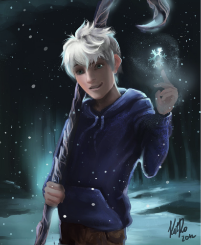 Jack Frost Painting