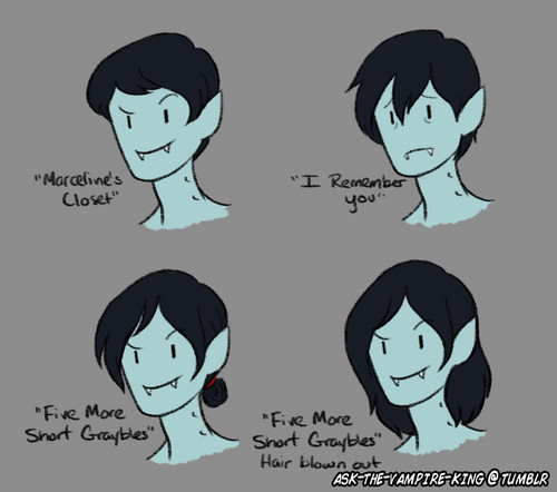 Marshall Lee hair cuts