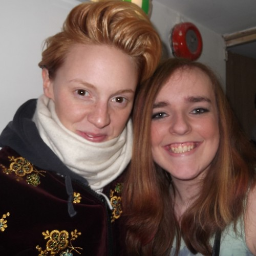 My friend meeting La Roux