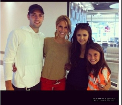 Nina Dobrev Easter Weekend in Toronto