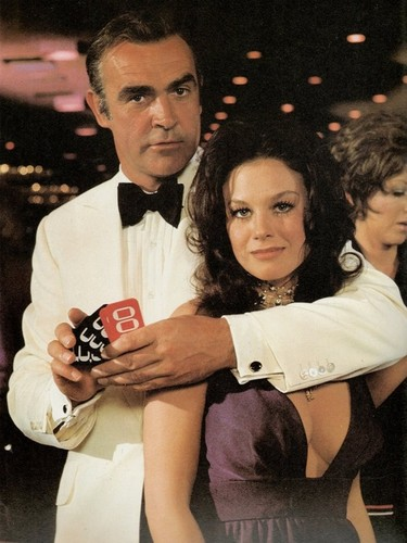 Sean Connery and Lana Wood (Diamonds Are Forever promo)