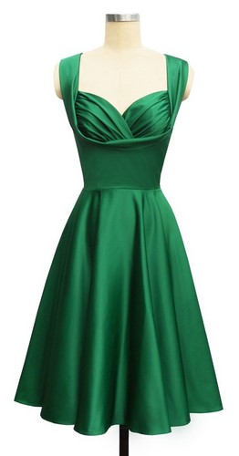 Slytherin Inspired Dress