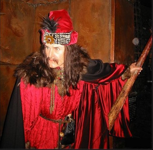 Vlad Dracula Tepes at Madame Tussauds