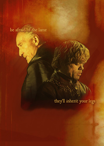Tywin & Tyrion Lannister
