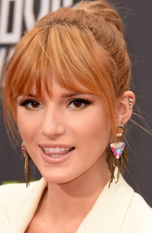 Bella Thorne at the MTV Movie Awards 2013