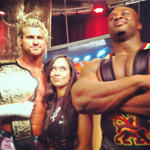 Dolph Ziggler,AJ Lee,Big E Langston