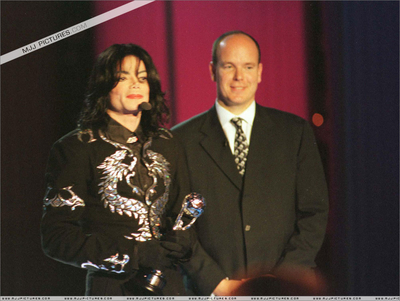 Michael And Prince Albert Of Monaco