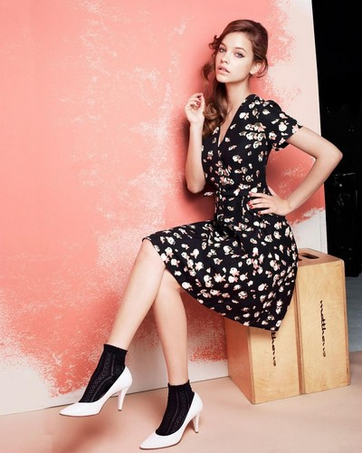 Retro Inspired Women's Wear in Boutique ByJaeger Winter 2012-2013 Lookbook
