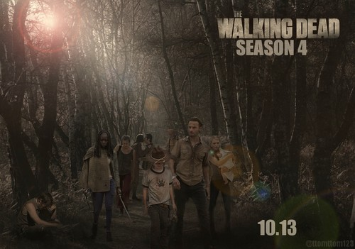 The Walking Dead Season 4 Poster || 10.13