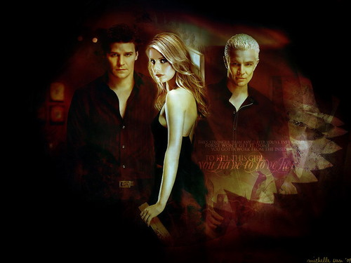 angel , Buffy & Spike