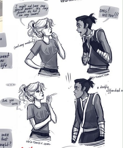 Annabeth and Sokka