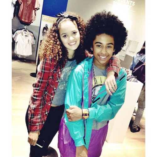 Awwww, Princeton is with one of his Best Friends, Madison Pettis!!!! :D ;D :) <3 ;* B) :) ; { D XO