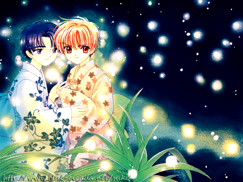 Eriol and Syaoran