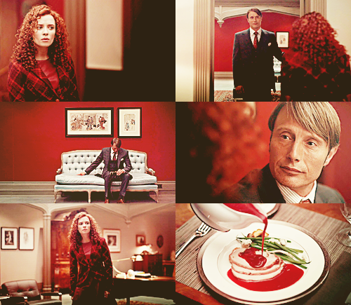 Hannibal and warna - Red