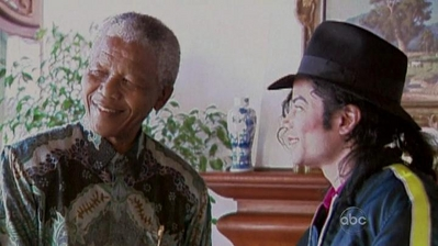 Michael And Nelson Mandela