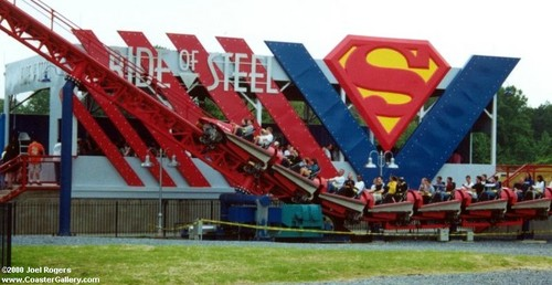 Six Flags America Superman: Ride of Steel