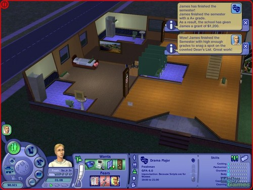 The Sims 2: University screenshot