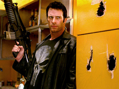 Thomas Jane as Frank Castle